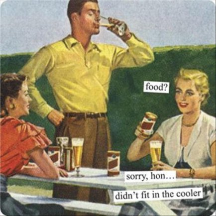 1950s-sarcasm-vintage-beer-ad-food-no-room-cooler