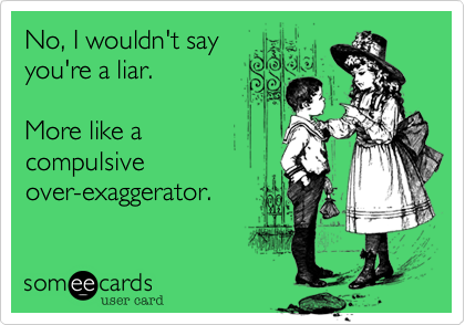exaggerate 1